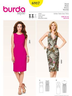 39 besten Schnitte für Kleider und Röcke Bilder auf Pinterest | Diy ...