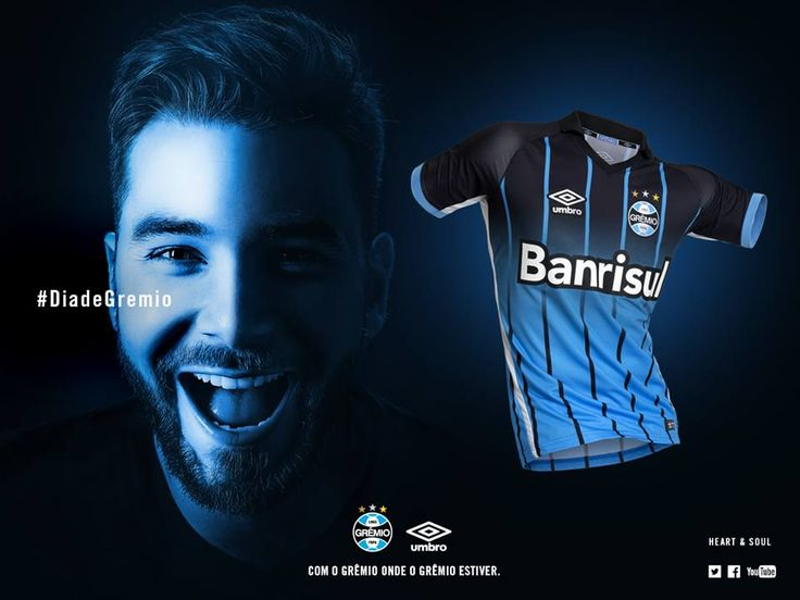 Terceira camisa do Grêmio 2016-2017 Umbro