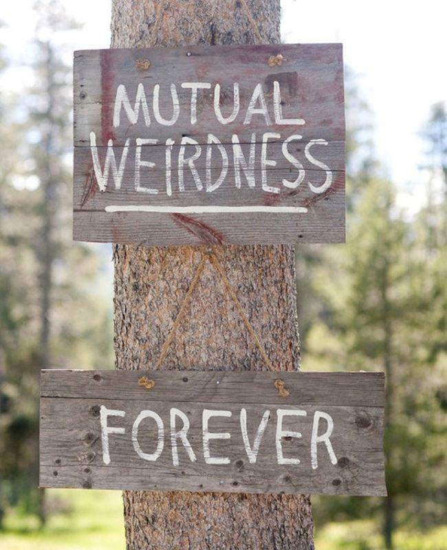 35 Too Cute Wedding Signs