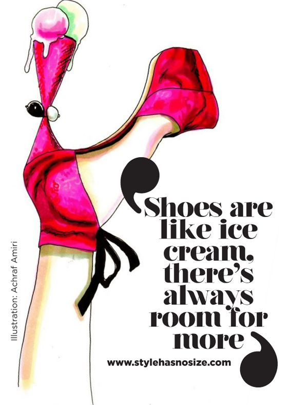 Room for more. I love shoes.