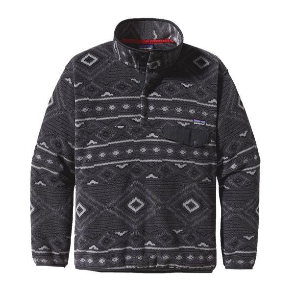 Patagonia Mens Synchilla Snap T Fleece Pullover