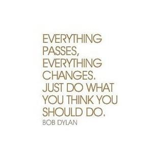 Just do what you think you should do.