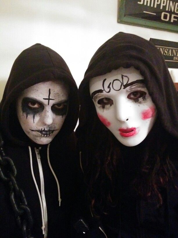 25 Best Images About The Purge Costume On Pinterest | Woman Costumes Wearing All Black And ...
