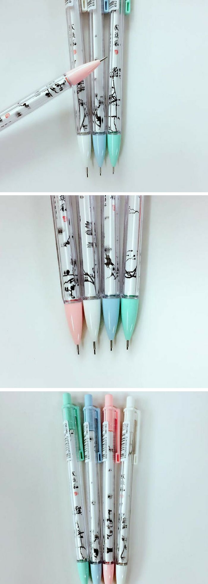 Found on Etsy! Cute sakura cherry blossom print mechanical pencils for fans of kawaii Japanese stationery! #ad #sakura #kawaii #stationery