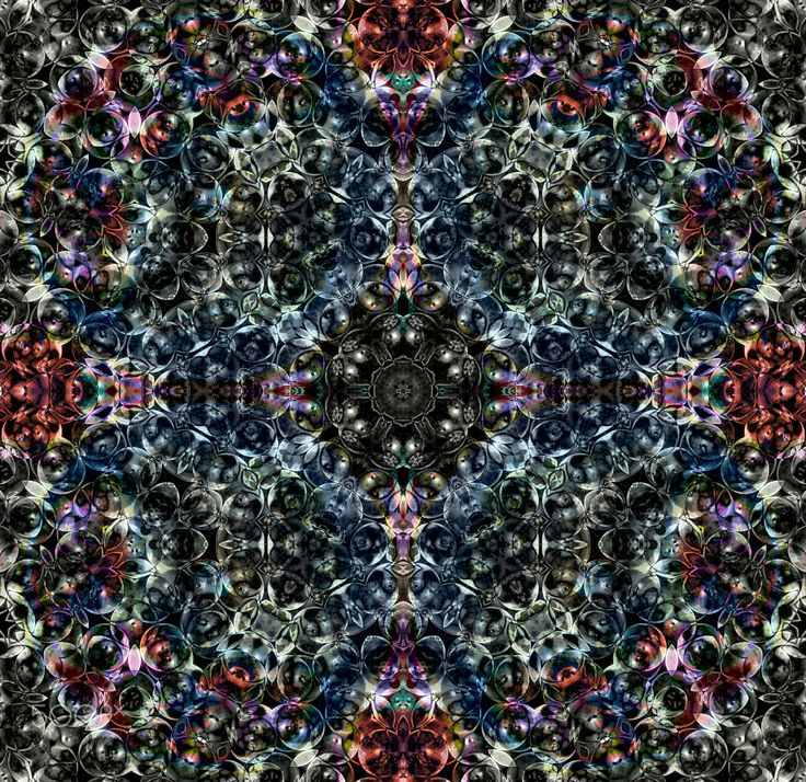 Psychedelic Snowflake - Psychedelic pattern