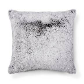Keep your space chic and trendy with this Gray Plush Oversized Throw Pillow from Room Essentials™. If you're one to cuddle up with throw pillows, you'll love resting your head against the soft, plush material of this pillow. Toss it on your bed with a plethora of other accent pillows to make it as stylish as it is comfy.