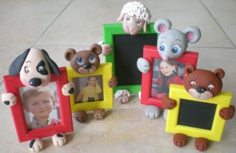 clay animal frames