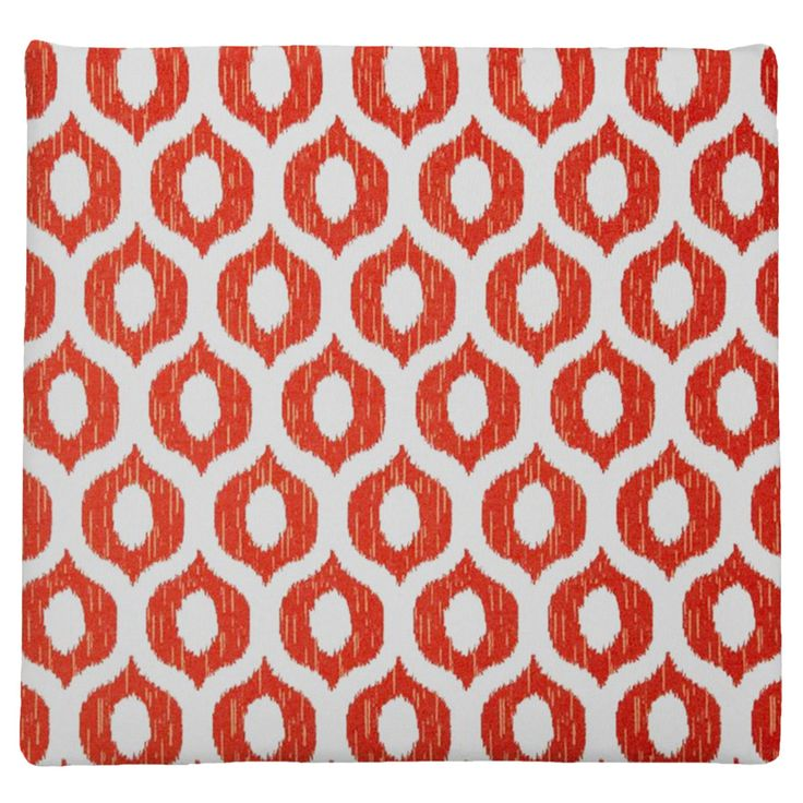 Easy Way Flame Print Knife Edge Polyester Outdoor Chair Pad - 11004N-C674