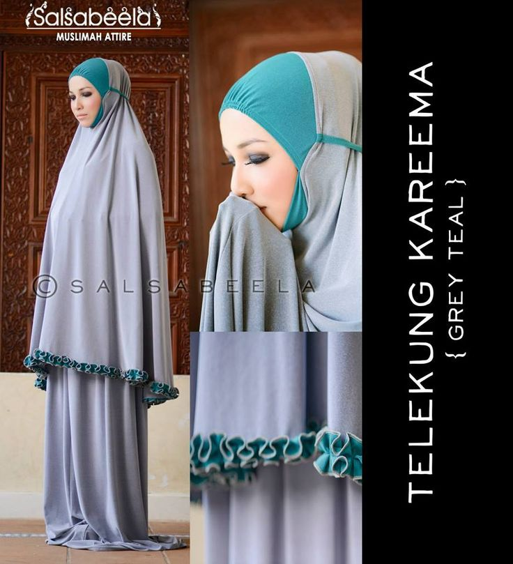 Telekung Kareema CODE: TKGT03 RM179 (exclude postage) Status : Available