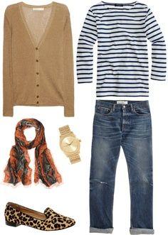 Favorite transition piece is a boyfriend cardigan! Perfect FALL outfit! #fall #outfit #transitionpiece