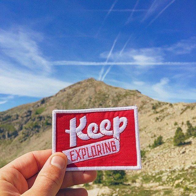 Adventure Patch - Keegan Jones / travel words