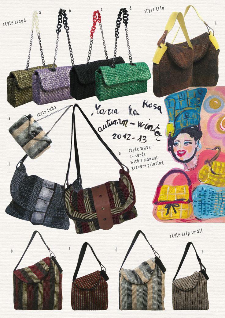 Design Inspiration, Maria La Rosa | interesting shapes and use of fabrics
