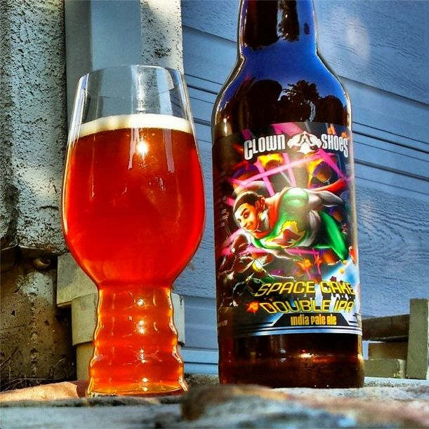 Clown Shoes Space Cake Double IPA from @det311