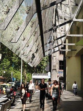 500 BOURKE ST PODIUM REDEVELOPMENT by John Wardle Architects