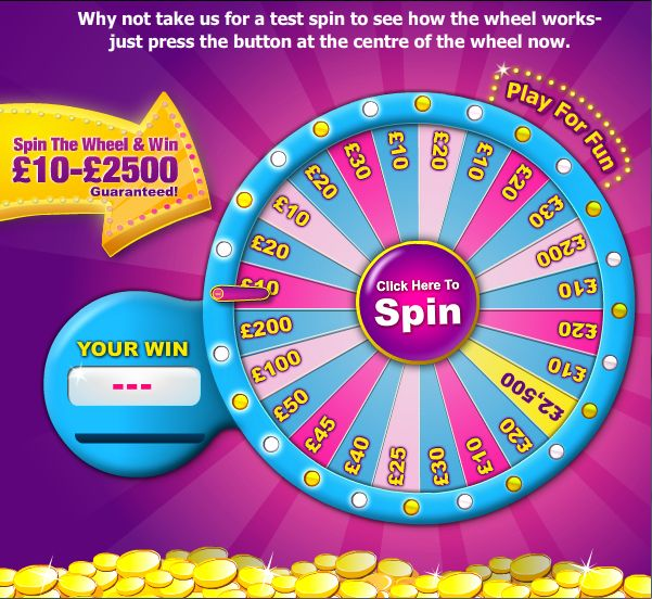 Want Something To Gossip About? Gossip Bingo New Player Bonus Is £20 Totally Free! We recommend you make a deposit of just £10 to enable entry into a go on spin the wheel where you could win up to £2,500 Loads of free bingo games, brilliant promotions and some large jackpotpot games to enter! http://www.initto-winit.com/bingo/gossip-bingo/