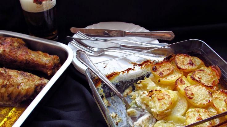 Házias konyha: Mézes-mustáros tejszínben sült krumpli