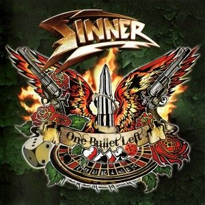 Sinner - One Bullet Left - album cover