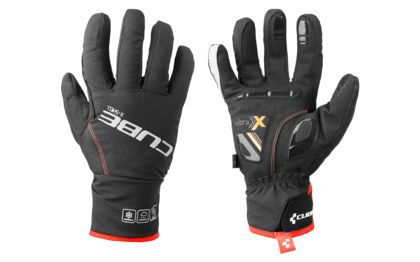 Today's present for 2 of you: CUBE Natural Fit Gloves X-Shell Long Finger.