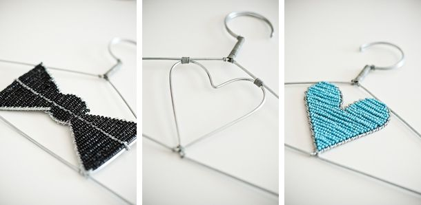 Cute-ise your coat hangers!