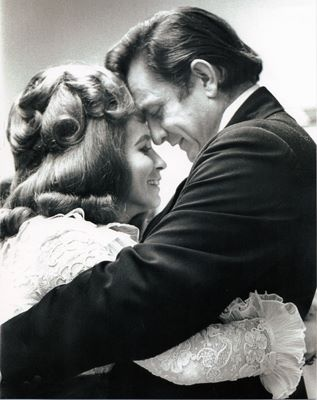 June Carter & Johnny Cash. Magic, and blessed to have seen them perform together.