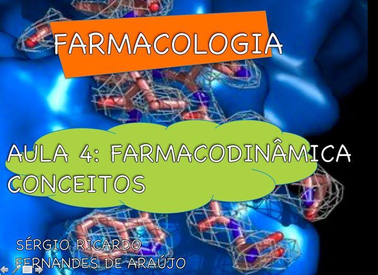 Curso de Farmacologia: Aula 4 - Farmacodinamica - Conceitos