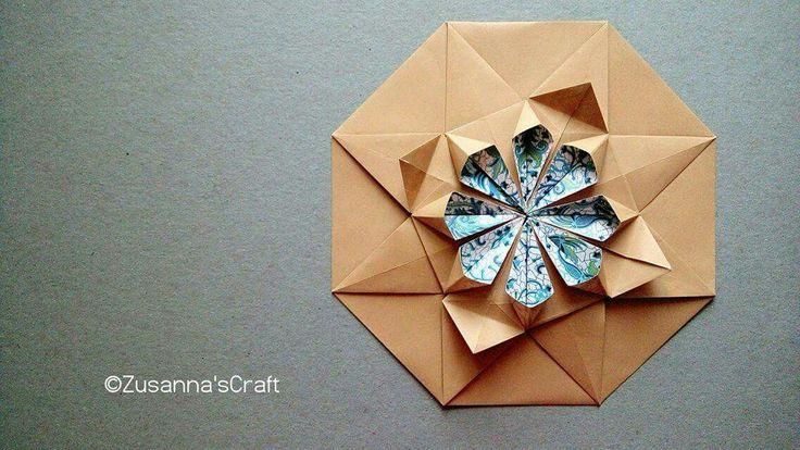 Origami Tatou Tradisional Design Folder #zusannascraft Photo by #zusannasphotography #origami #tatou #origami_art #papercraft #handmade #madewithlove #lovely