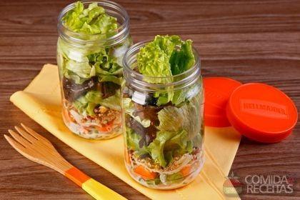 Receita de Salada no pote em receitas de saladas, veja essa e outras receitas aqui!