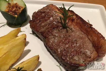 Receita de Bife de chorizo (para churrasco) em receitas de carnes, veja essa e outras receitas aqui!