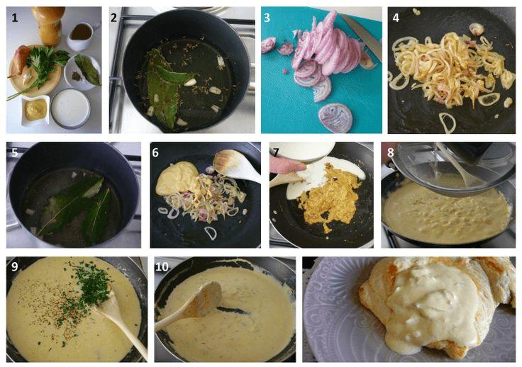 LAS SALSAS DE LA VIDA: Salsa de mostaza