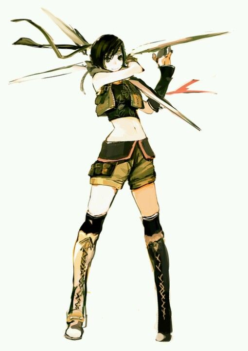 Not a manga but I love her : Yuffie