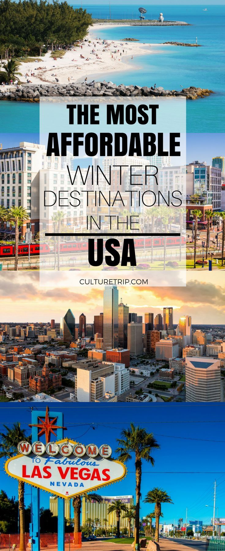 And the Most Affordable Winter Vacation Destinations in the United States Is…