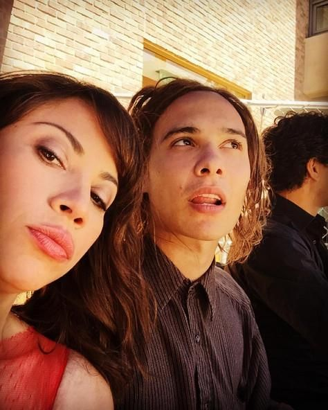Don't let their calmness fool you, tomorrow's #FearTWD is going to be insane. : @ERodriguez
