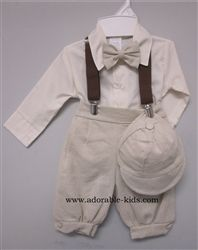 Perfect outfit for Sawyer's baptism! Tommy - Baby Boys Knicker Set