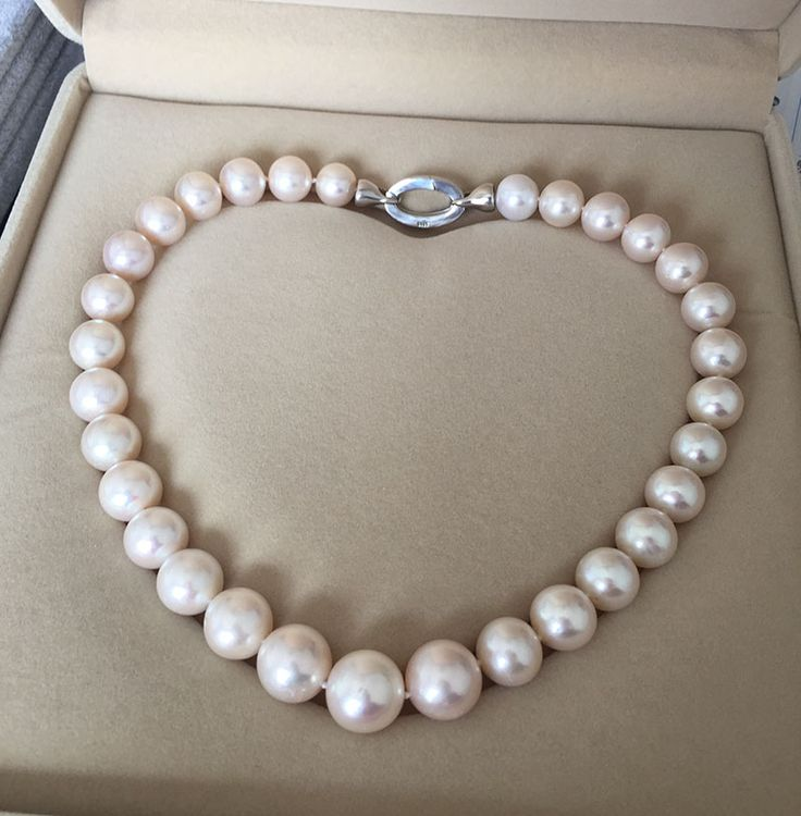 Cheap Chain Necklaces, Buy Directly from China Suppliers:Wholesale free shipping >>charm Jew. Gorgeous Natural white 13-14mm kasumi Pearl Necklace