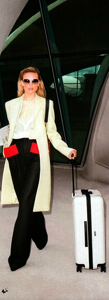 Travel in style - Natasha Poly � Harper's Bazaar USA June/July ...