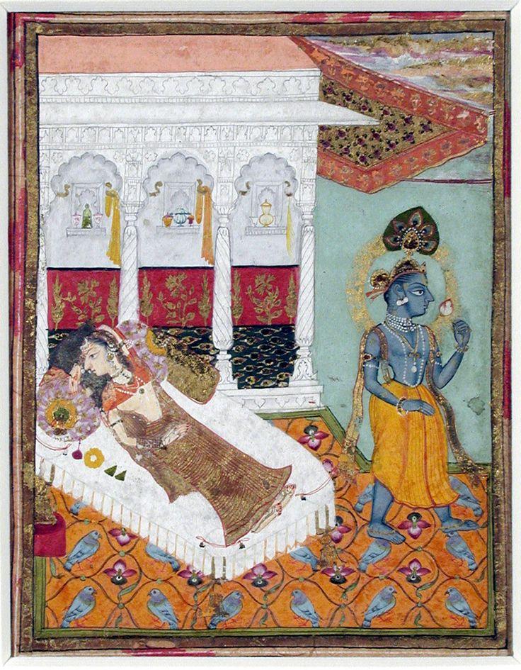Krishna leaves Radha
