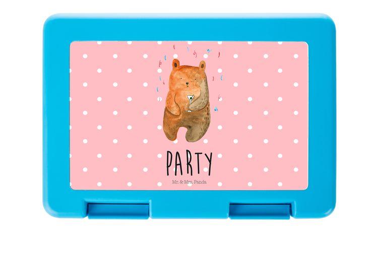 Brotdose Bär Party aus Premium Kunststoff  schwarz - Das Original von Mr. & Mrs. Panda.  Diese wunderschöne Brotdose von Mr. & Mrs. Panda ist wirklich etwas ganz Besonderes - sie ist stabil, sehr hochwertig und mit einer exklusiven und schimmernden bedruckten Aluminiumplatte  ausgestattet.    Über unser Motiv Bär Party  Der Party Bär ist das ideale Geburtstagsgeschenk aus der Mr. & Mrs. Panda Kollektion. Perfekt für den Menschen der schon alles hat, oder einfach nur ein liebevolles…