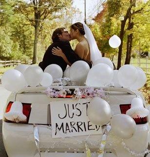voiture mariage voiture balai - Marie Claire