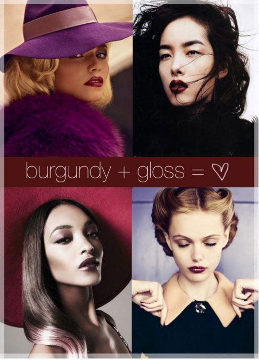 mmm burgundy