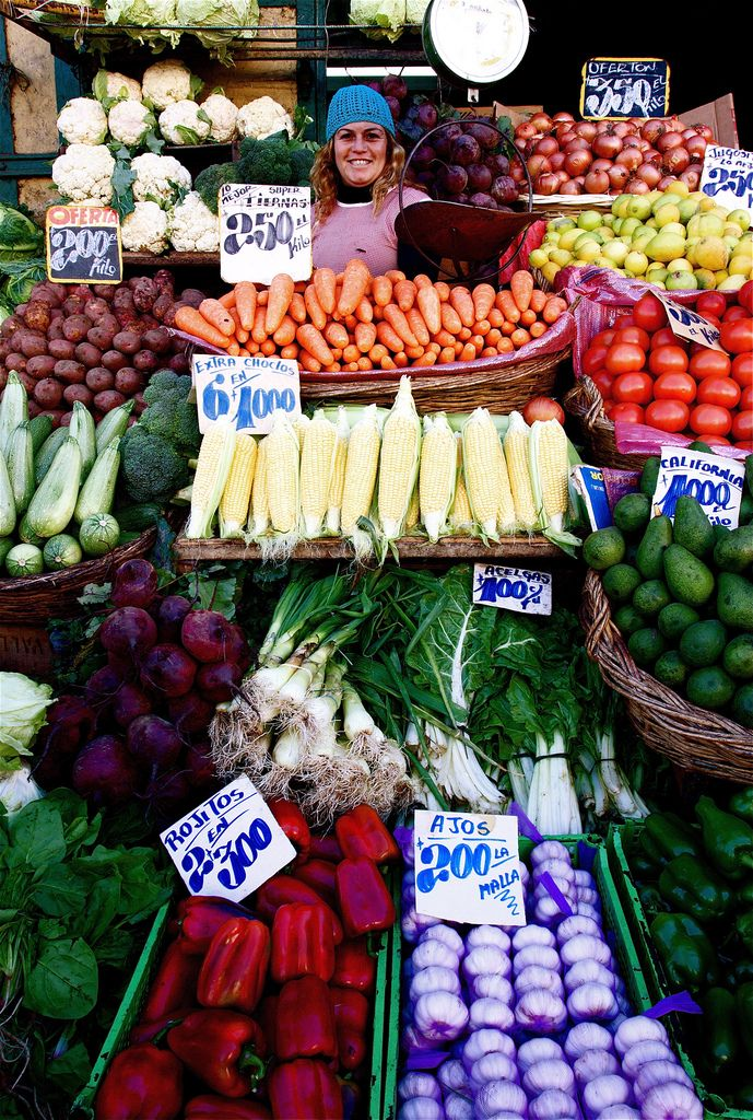 Grocery in Valparaiso, Chile