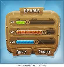 tablet game ui -