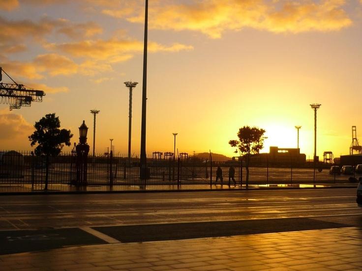 sunrise - Auckland Viaduct @pilaricke