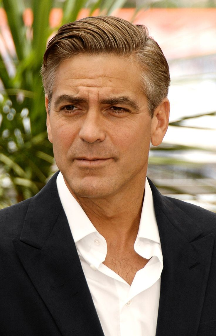 George Clooney with an...