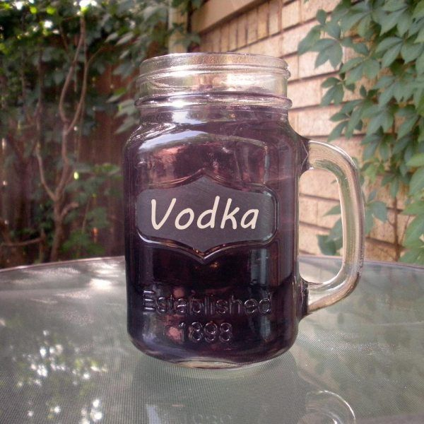 Grape Kool Aid Cocktail with Vodka for Vikings game