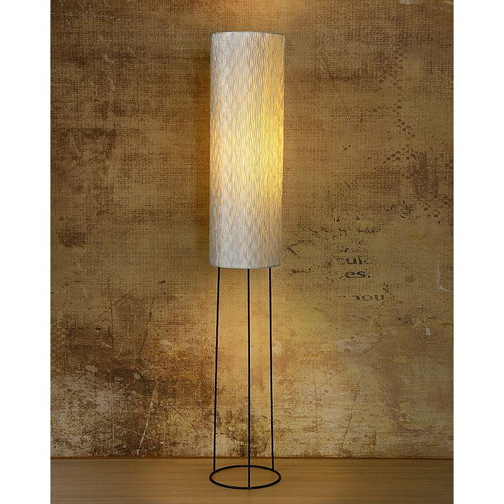 Cabaret - zilveren staande lamp