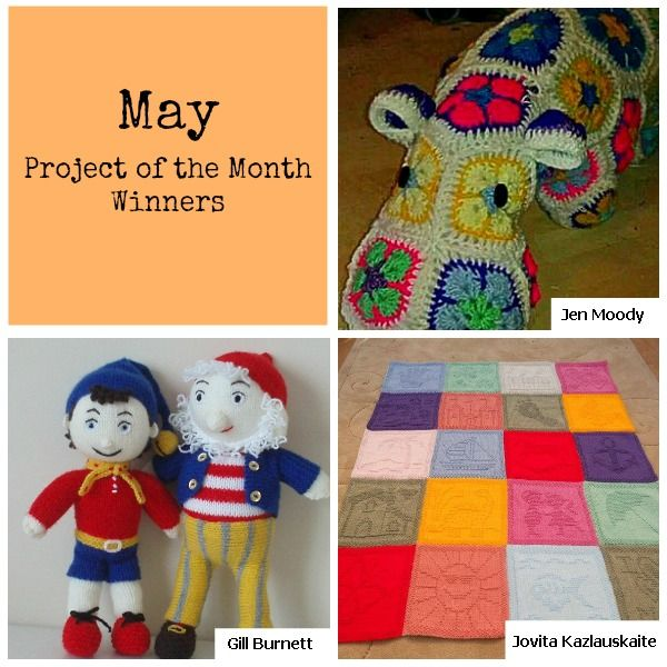 May Project of the Month Challenge Winners