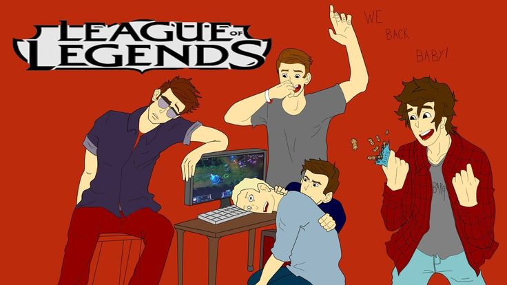 (long) Funny gaming video with these guys attempting to play league of legends and they can't even make an intro.