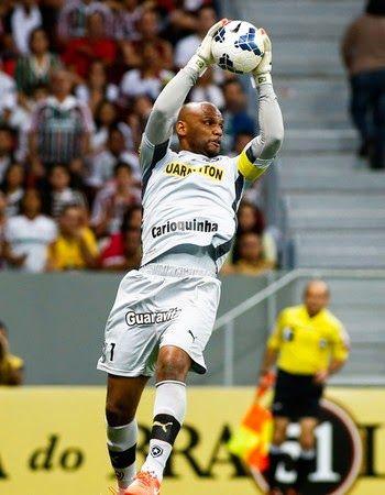 Blog Esportivo do Suíço: Jefferson aceita proposta e fica no Botafogo até 2017