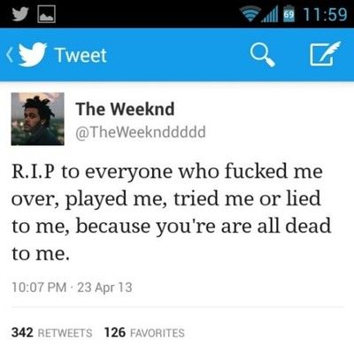 the weeknd quotes tumblr - Google Search