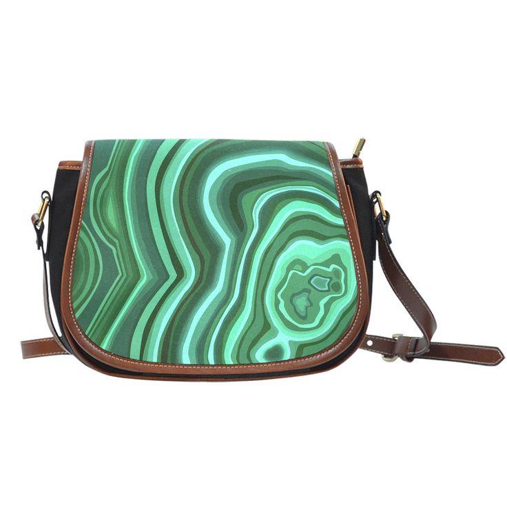 Saddle Bag - Malachite